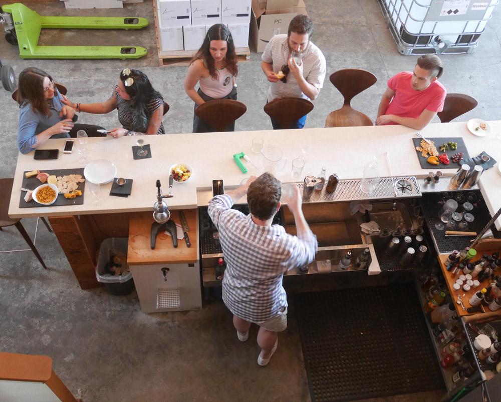 Behind the Scenes at Aria Gin Distillery, Portland, Oregon
