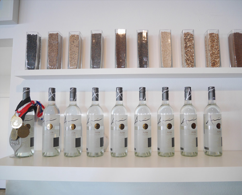 Aria Gin Award Winning Dry English Gin, Portland