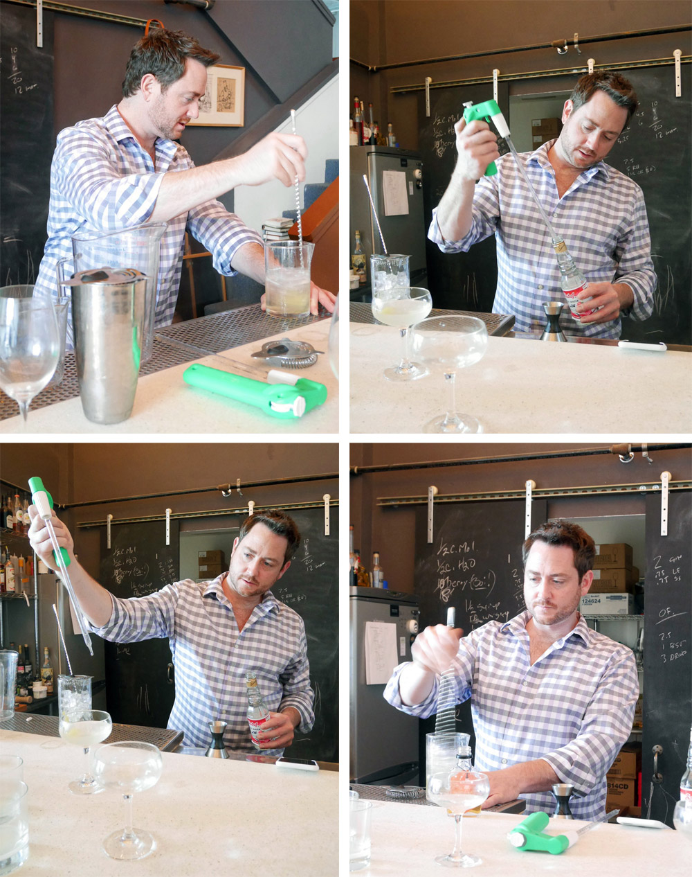 Aria Gin Owner Ryan Csanky, Gin Cocktails