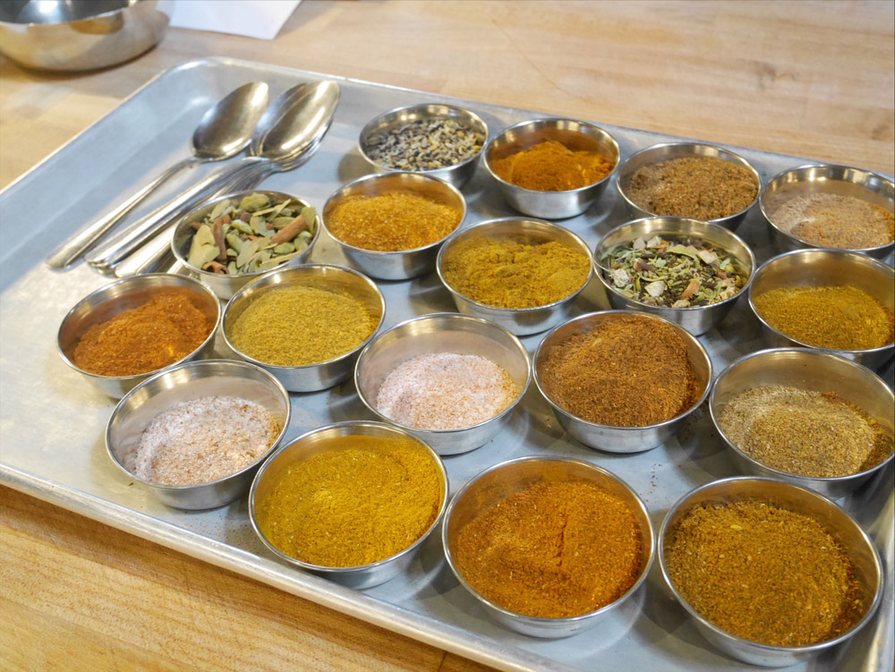 Spices at Bollywood Theater, SE Division, Portland, Oregon