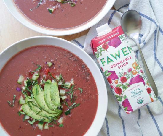 Fawen Organic Vegan Soup, 12 Day Drink Fawen Challenge
