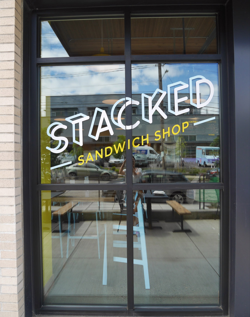 Stacked Sandwich Shop, SE Portland