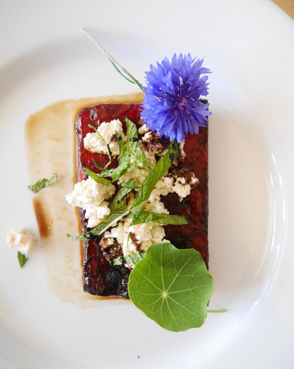 Vegan Watermelon Steak, Summer Flavor Popup with Veganizer Portland