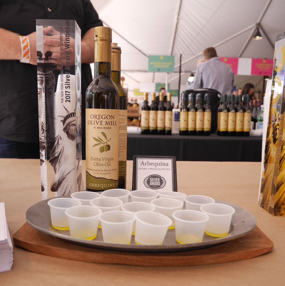 Feast Portland 2017: Friday & Saturday Grand Tasting, Oregon Olive Mill