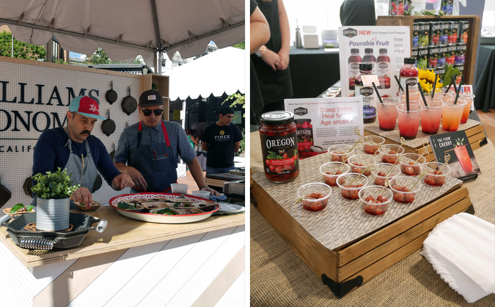 Feast Portland 2017: Friday & Saturday Grand Tasting, Williams Sonoma, Oregon Fruit Products