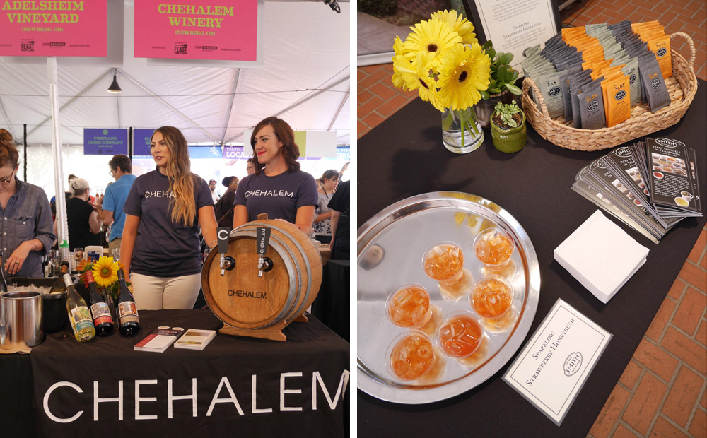 Feast Portland 2017: Friday & Saturday Grand Tasting, Chehalem Winery, Smith Teamaker