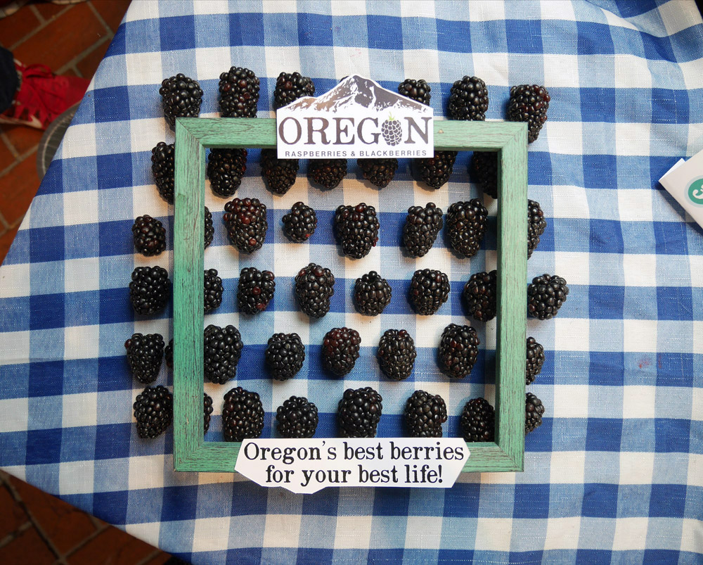 Feast Portland 2017: Friday & Saturday Grand Tasting, Oregon Berries