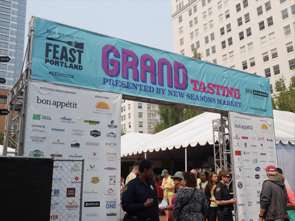 Feast Portland 2017: Friday & Saturday Grand Tasting, Pioneer Courthouse Square