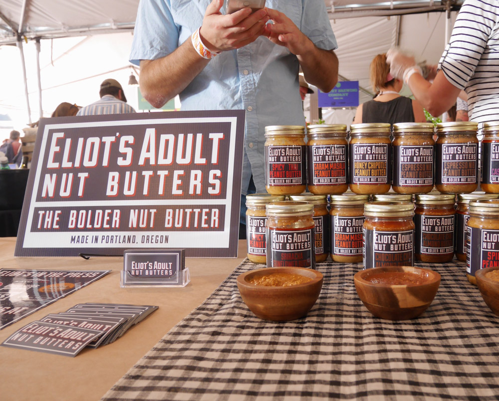 Feast Portland 2017: Friday & Saturday Grand Tasting, Eliot's Adult Nut Butters