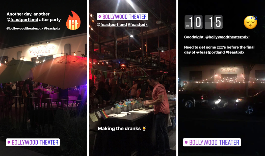Feast Portland 2017: Bollywood Theater After Party