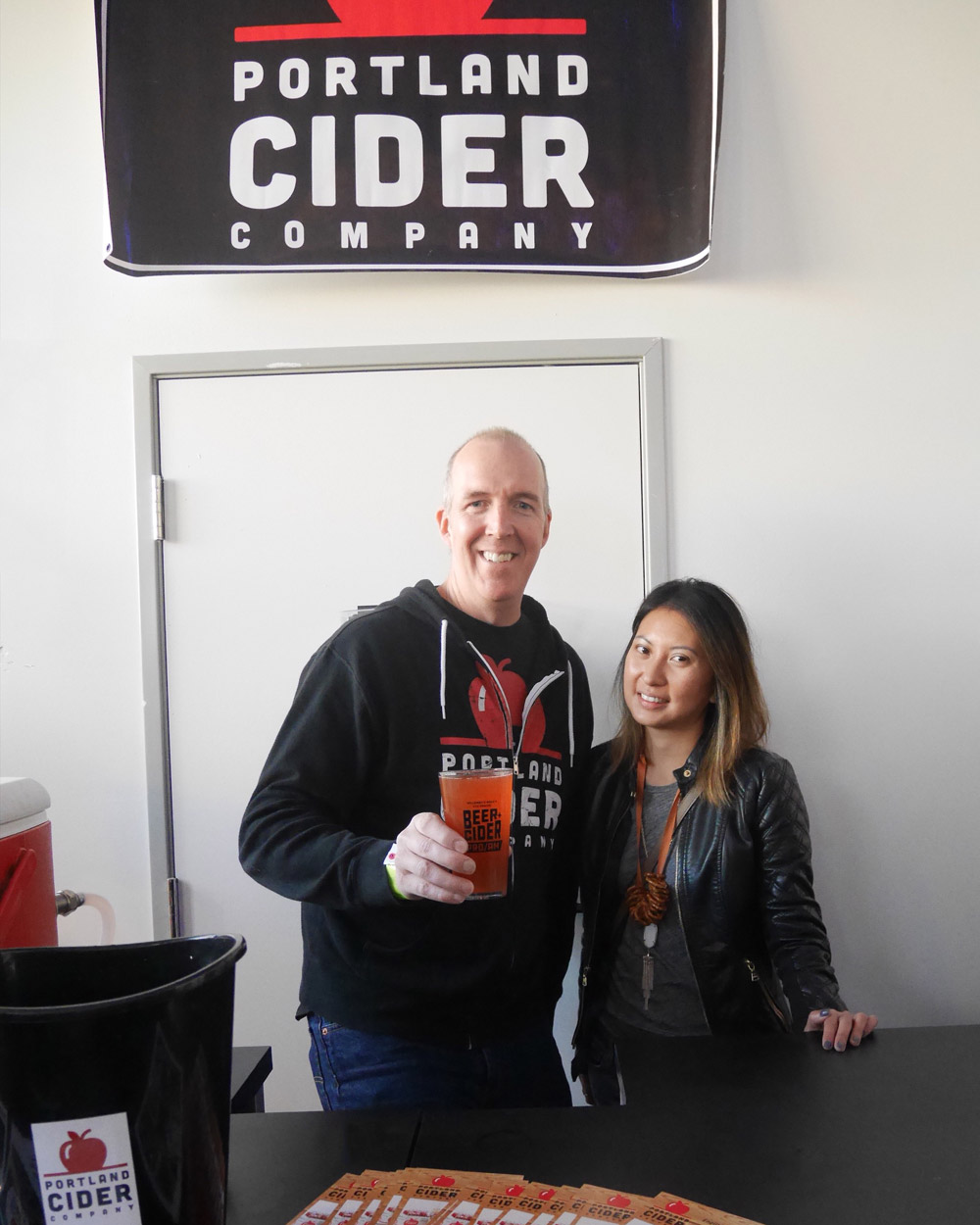 Jeff Parrish, Waz Wu, Portland Cider Grape Stomp, Williamette Week Cider & Beer Pro/Am 2017
