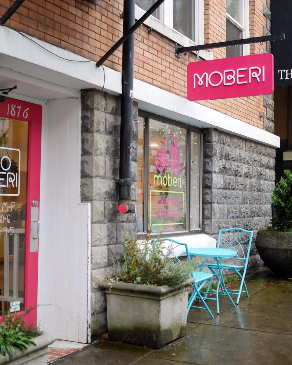 Moberi PSU Acai Bowl & Smoothie Cafe