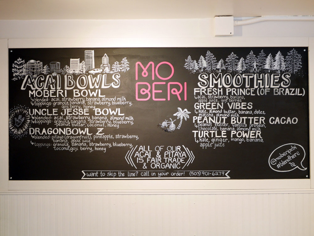 Moberi PSU Acai Bowl & Smoothie Cafe