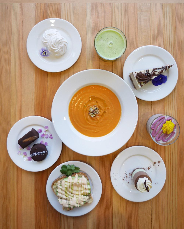 Tiny Moreso Cafe, Rawdacious Vegan Desserts, Portland