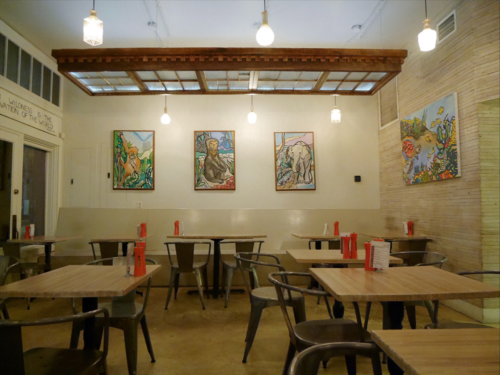 Seed Vegan Vegetarian Restaurant, New Orleans, Louisiana