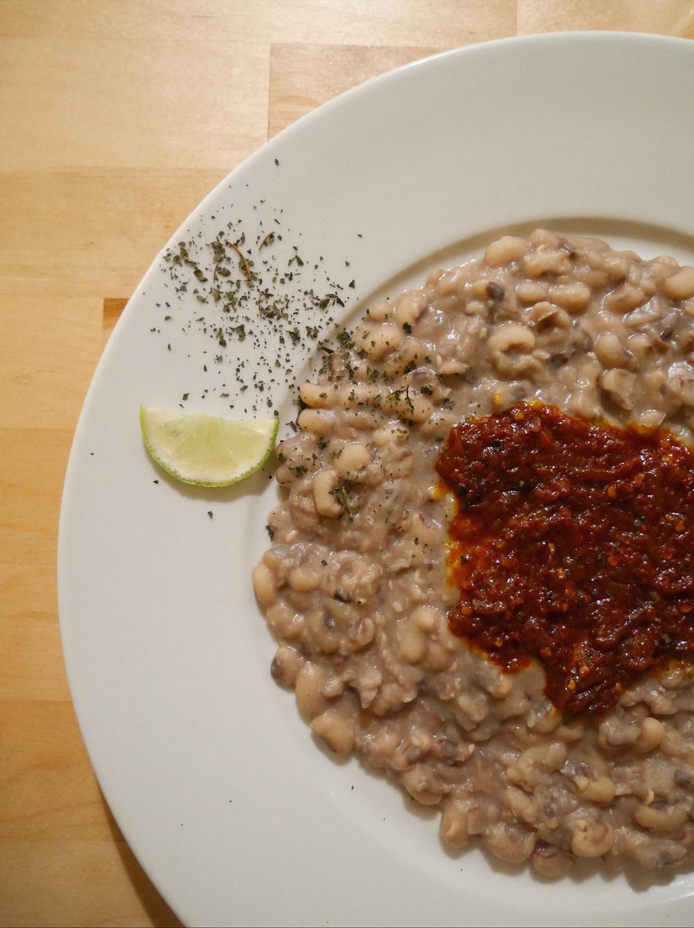 Portland Dining Month - Feastly Vegan Nigerian, Ewa Agoyin