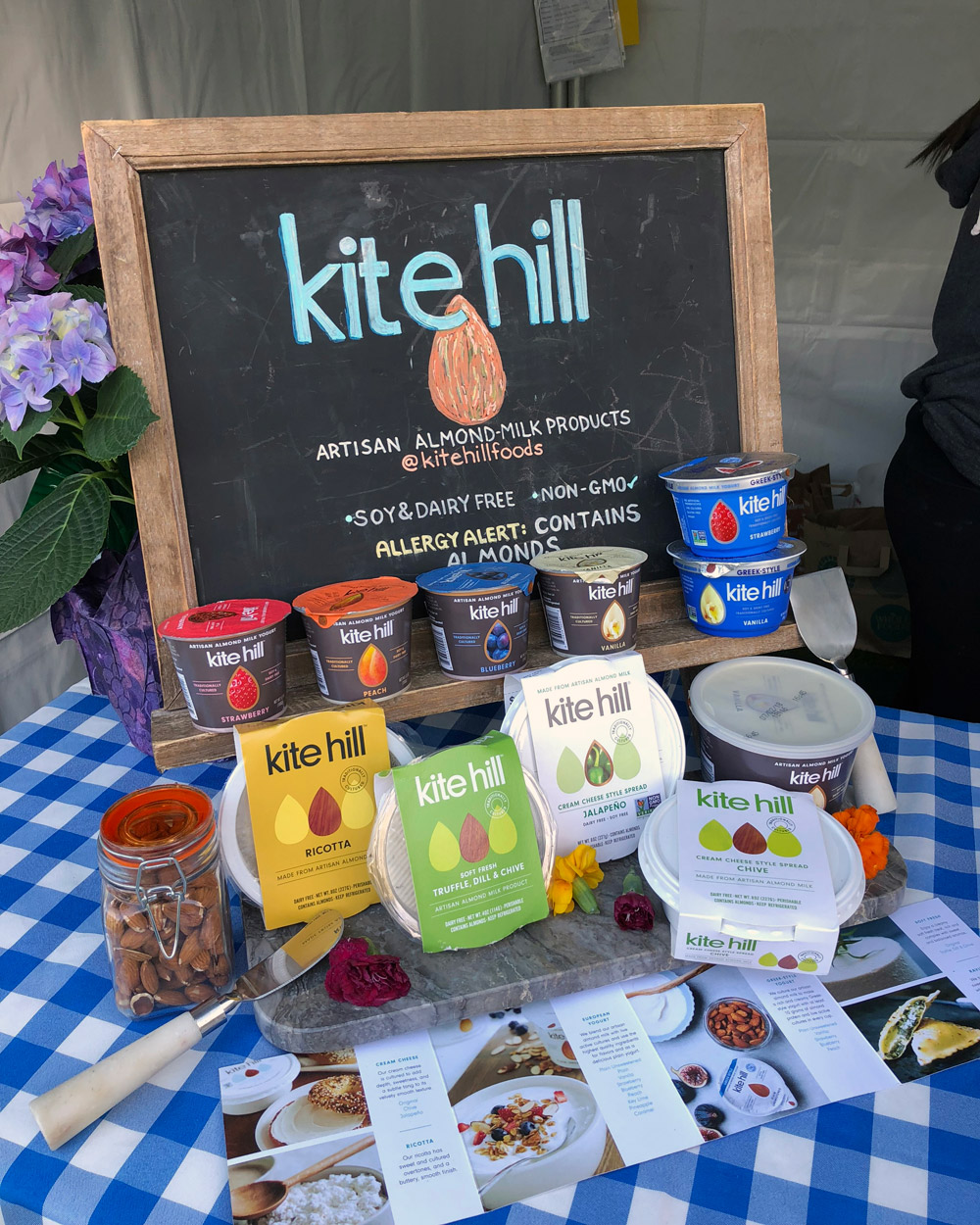 Seed Food & Wine Week LA, Grand Tasting - Kite Hill Cheese