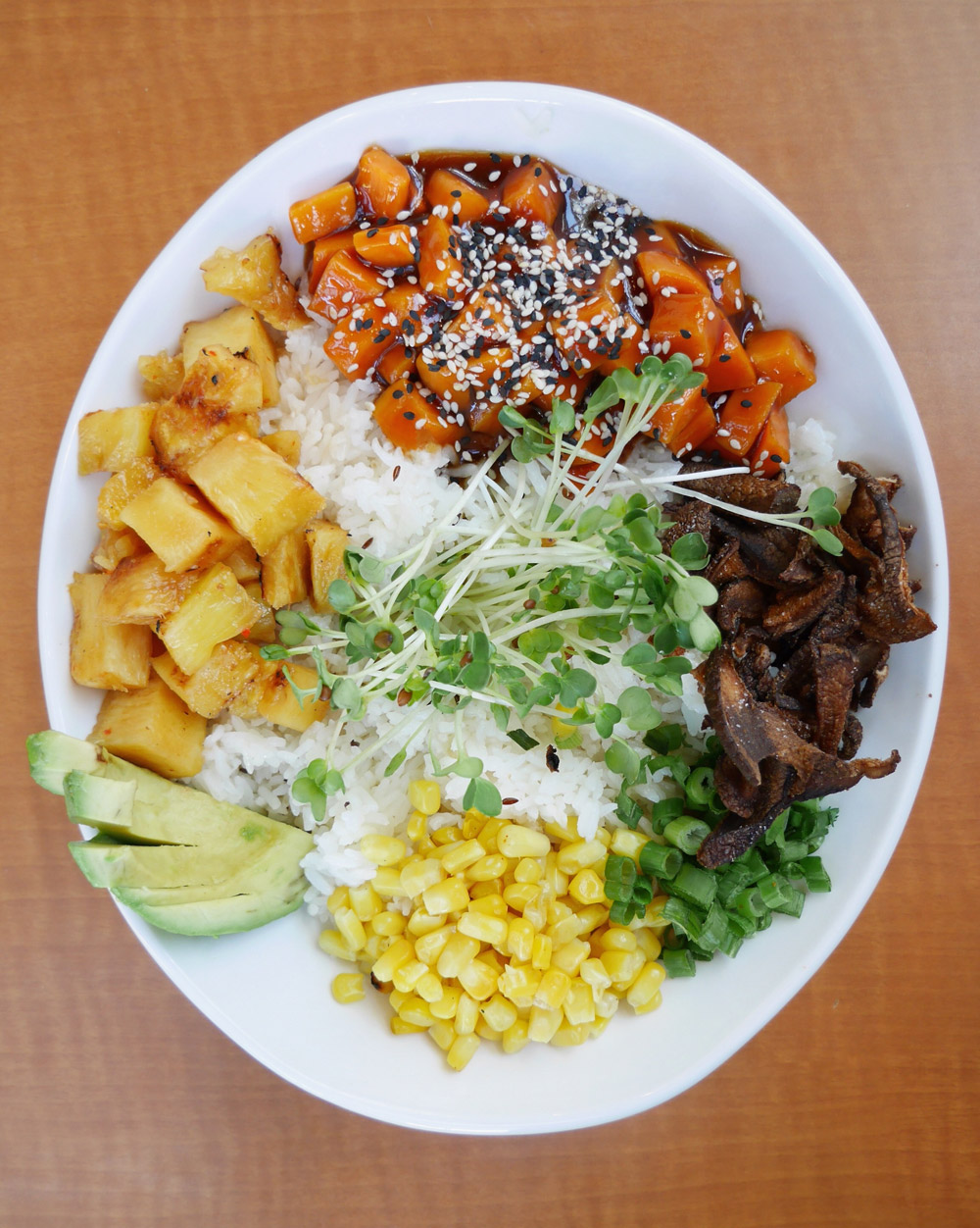 Buddha Bowl, Native Foods Cafe, Bridgeport Village