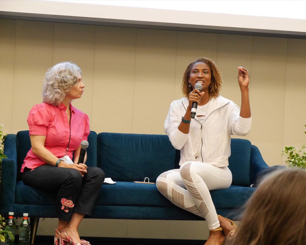 Elysabeth Alfano, Koya Webb, Seed Summit, Seed Food & Wine Week 2018