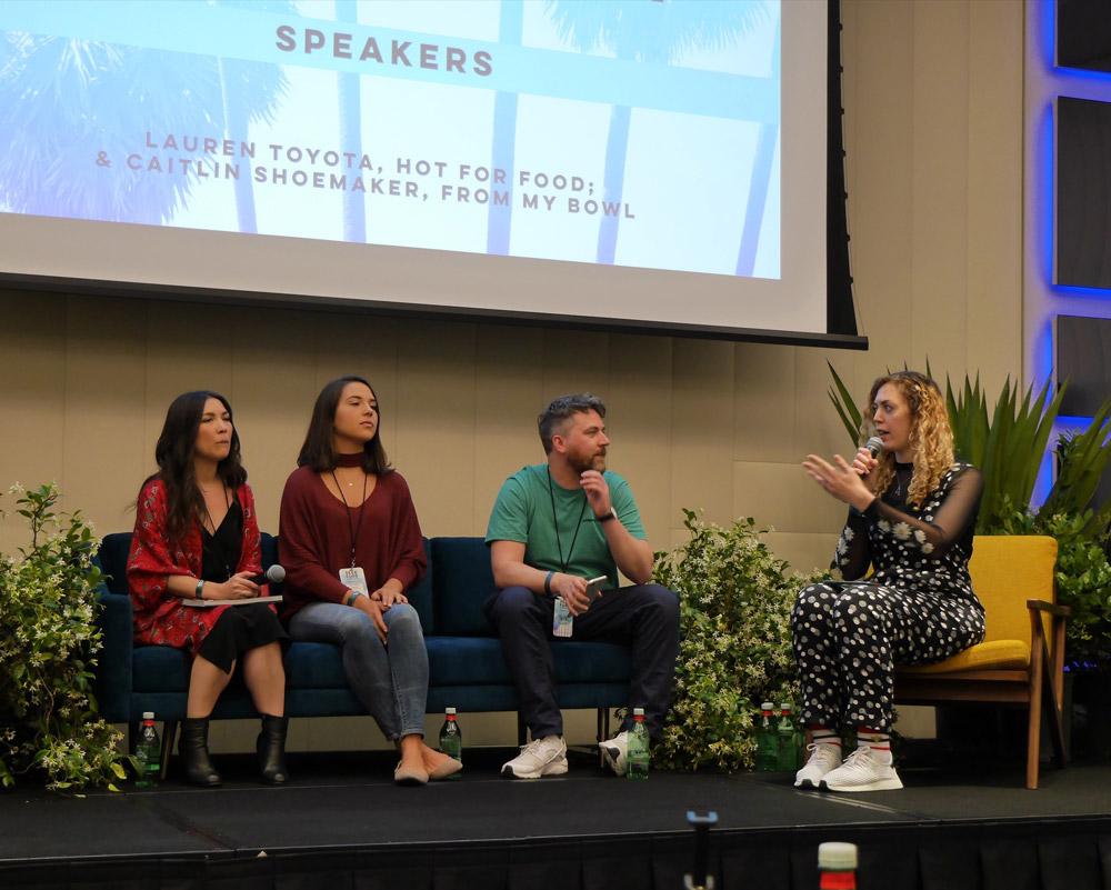Lauren Toyota, Caitlin Shoemaker, Vevolution, Seed Summit, Seed Food & Wine Week 2018