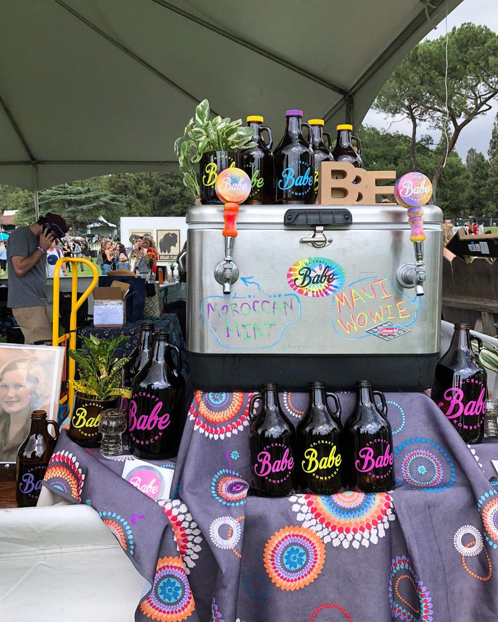Babe Kombucha, Eat Drink Vegan Festival, Los Angeles