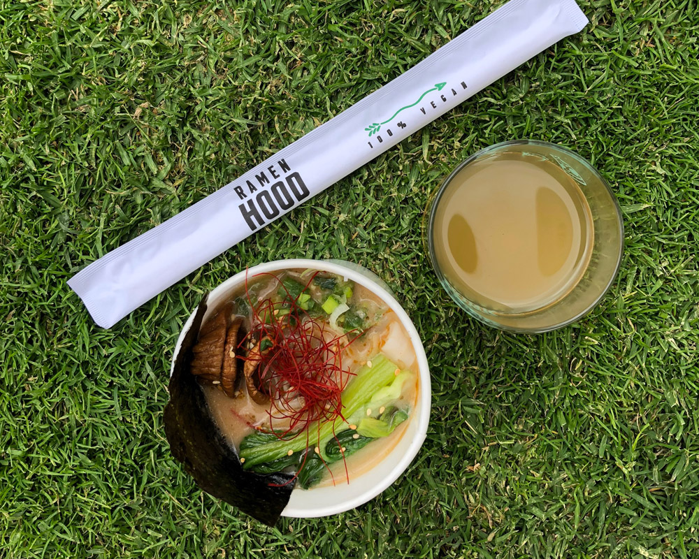 Ramen Hood, Eat Drink Vegan Festival, Los Angeles
