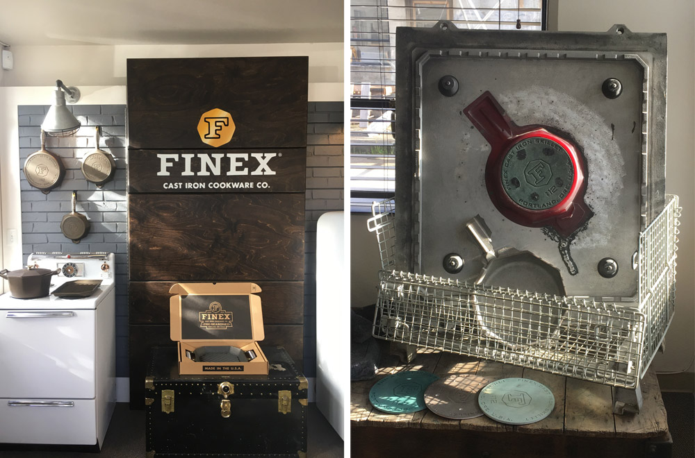 Finex Cast Iron Cookware from Portland, Oregon