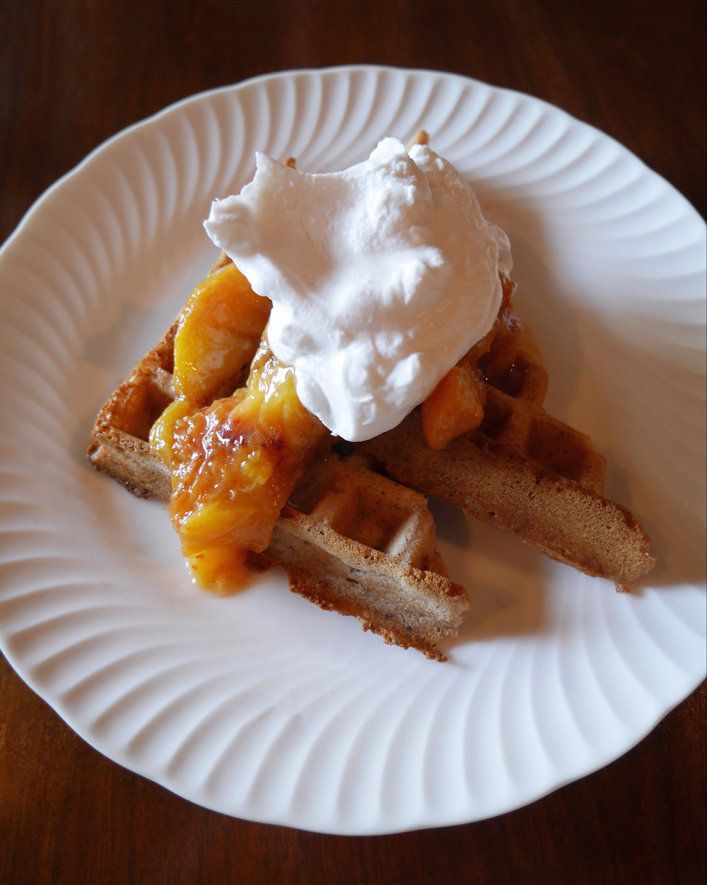 Sweet Spelt Waffle - Folklore Brunch Popup at Blank Slate Bar