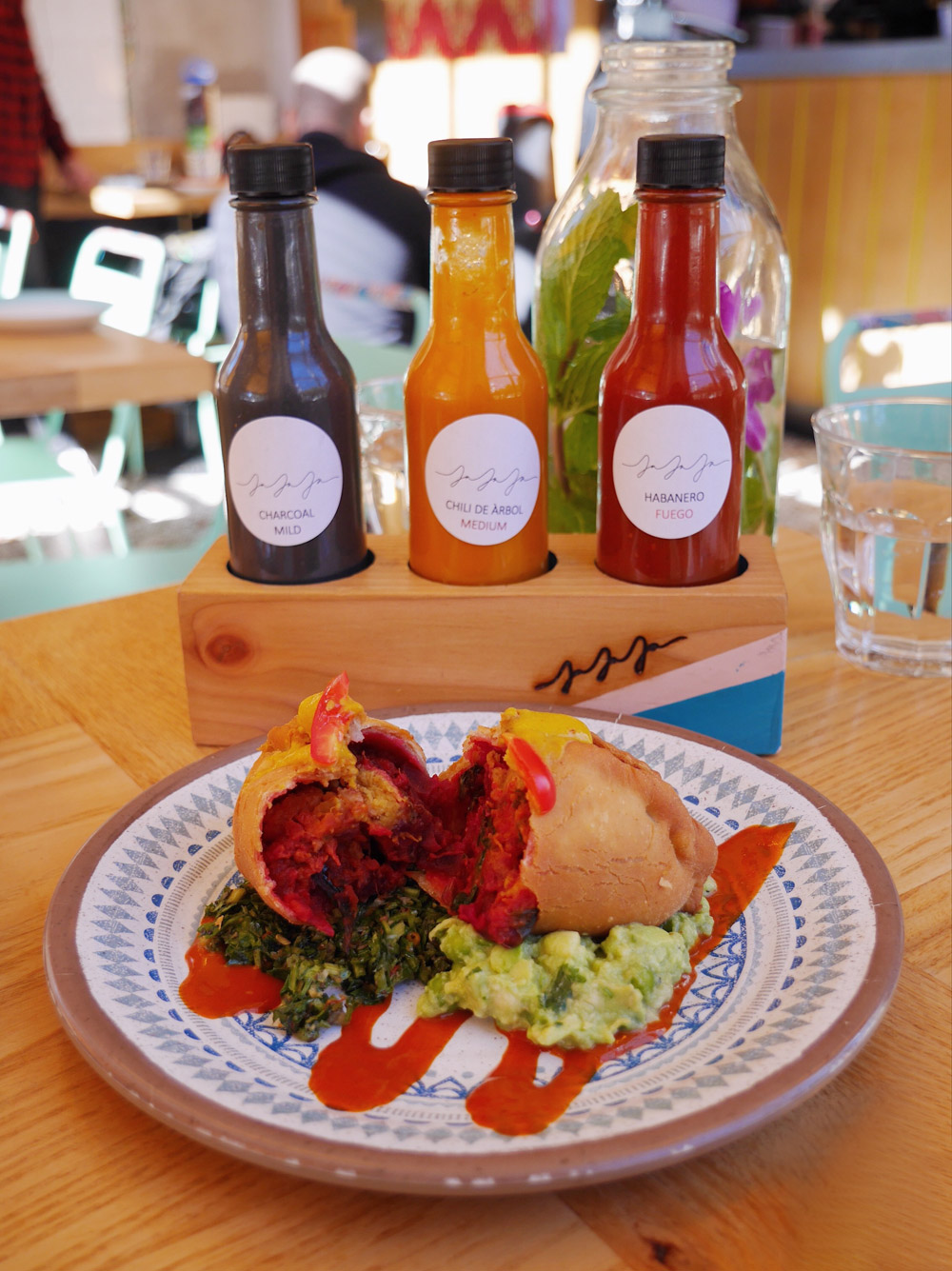 Jajaja - Beet & Pumpkin Empanada