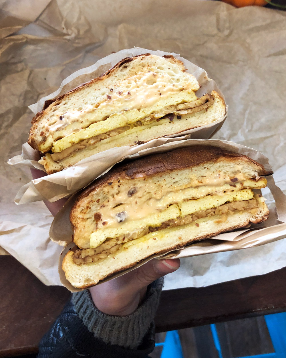Orchard Grocery - The Bowery Breakfast Sandwich