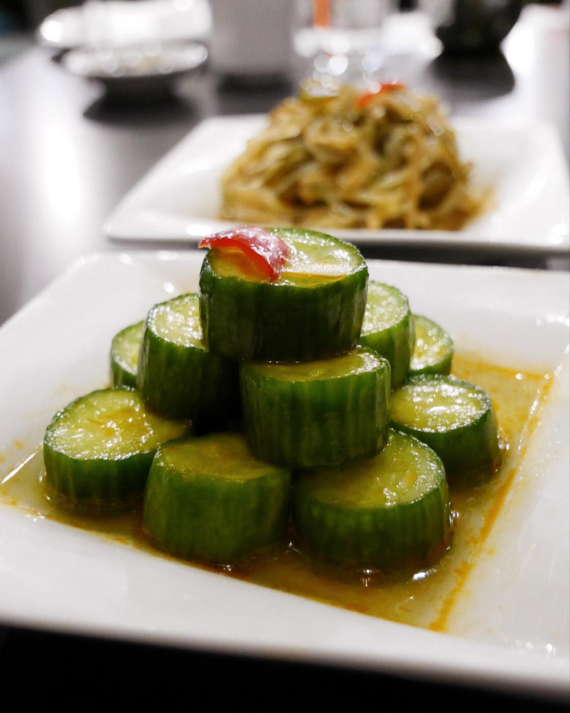 Din Tai Fung - Cucumber Salad