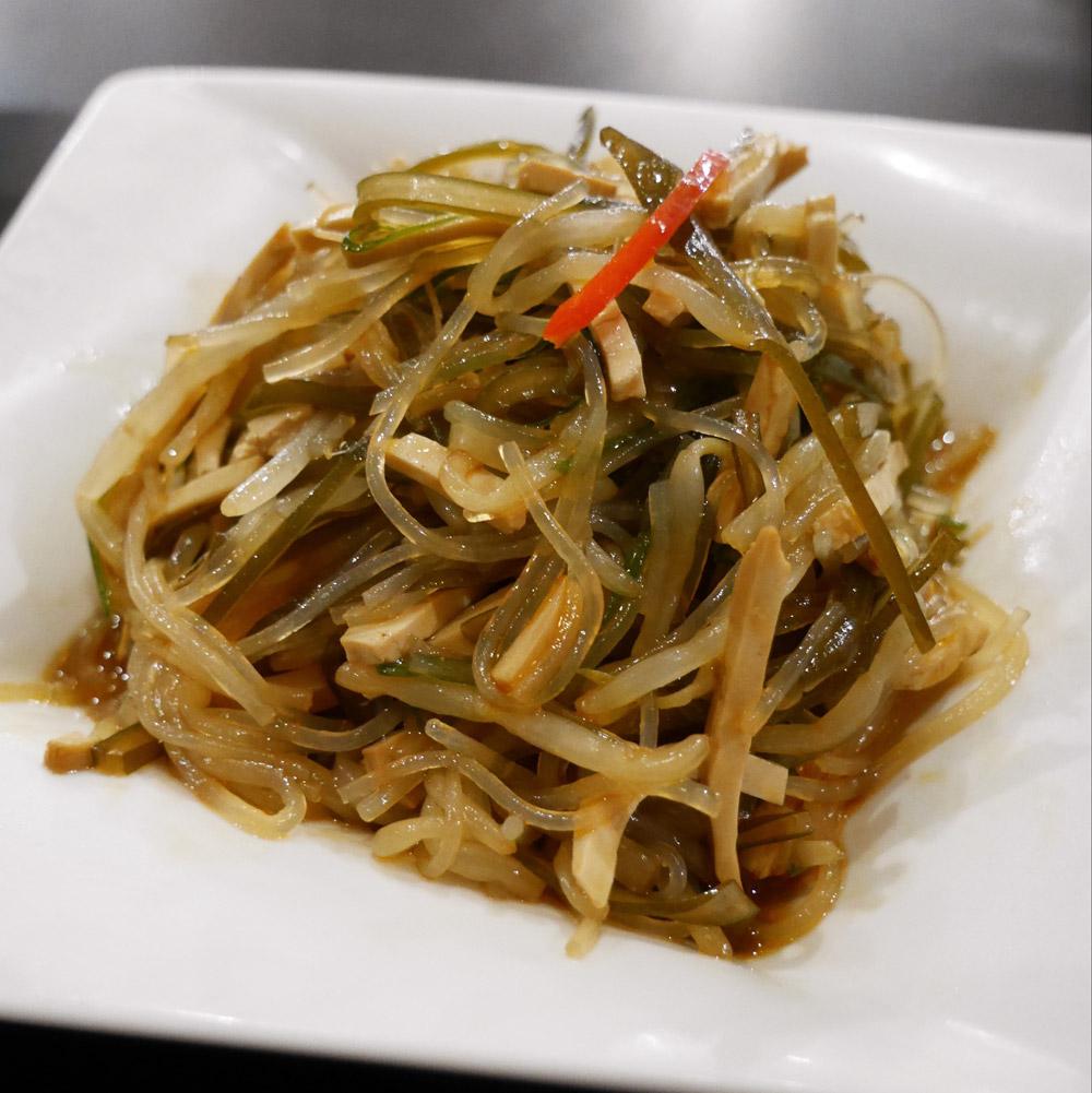 Din Tai Fung - Seaweed and Beancurd Salad