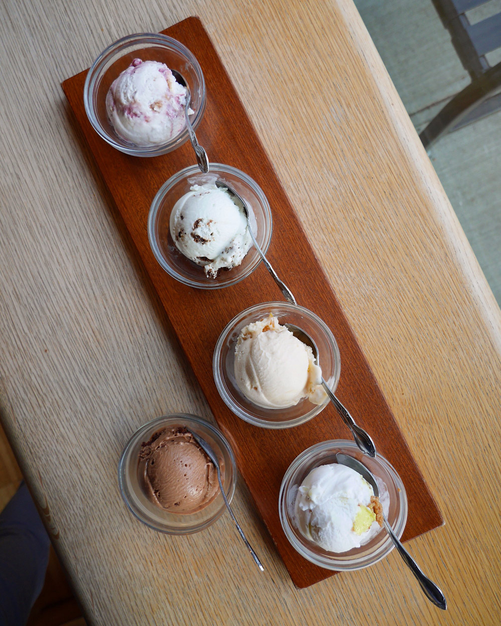 Salt & Straw - Vegan Ice Cream Flight