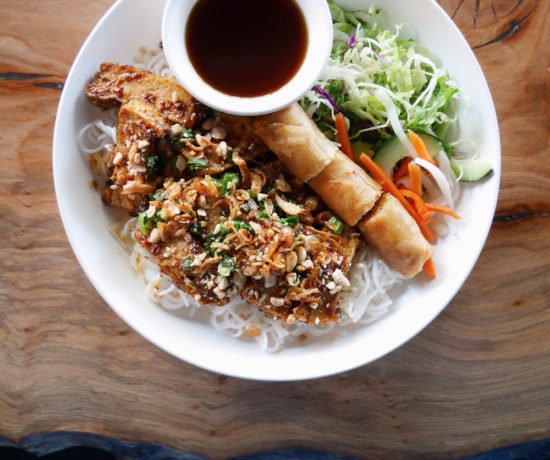 Anchoi Vietnamese Kitchen, Vermicelli Noodles with Tofu