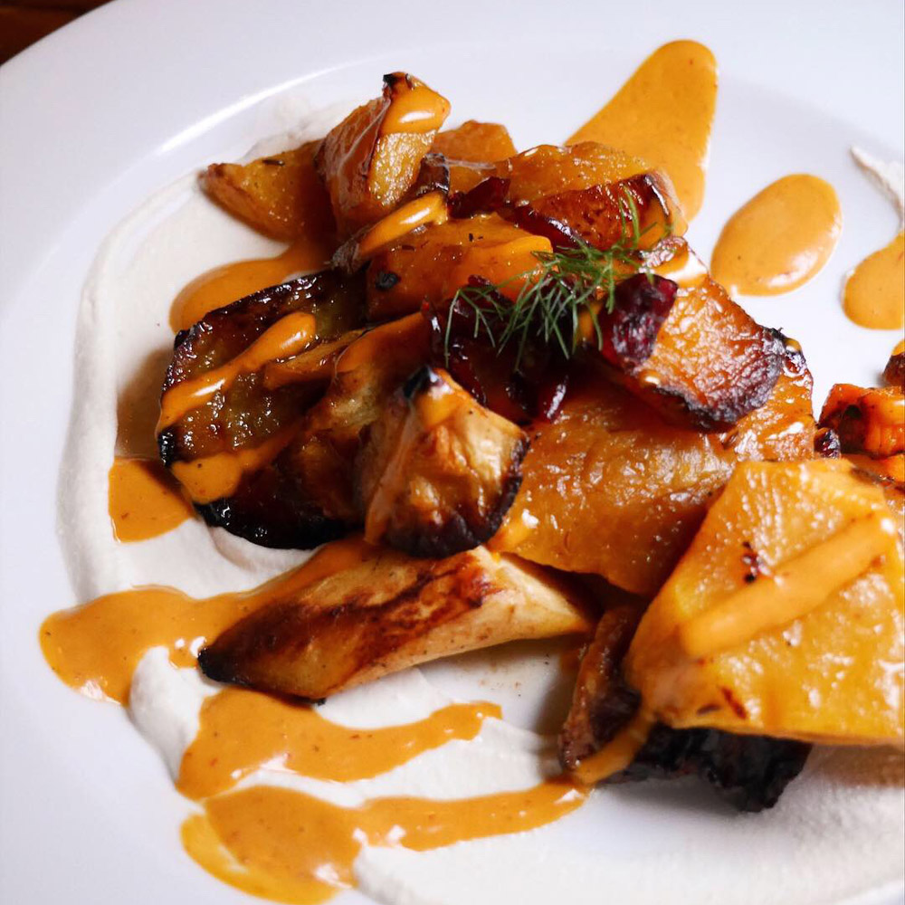 Aviv, Portland Dining Month, Roasted Root Vegetables