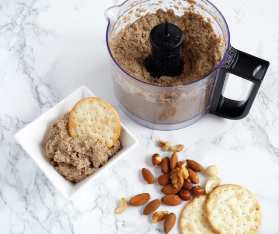 Vegan Mushroom and Nut Pate Recipe