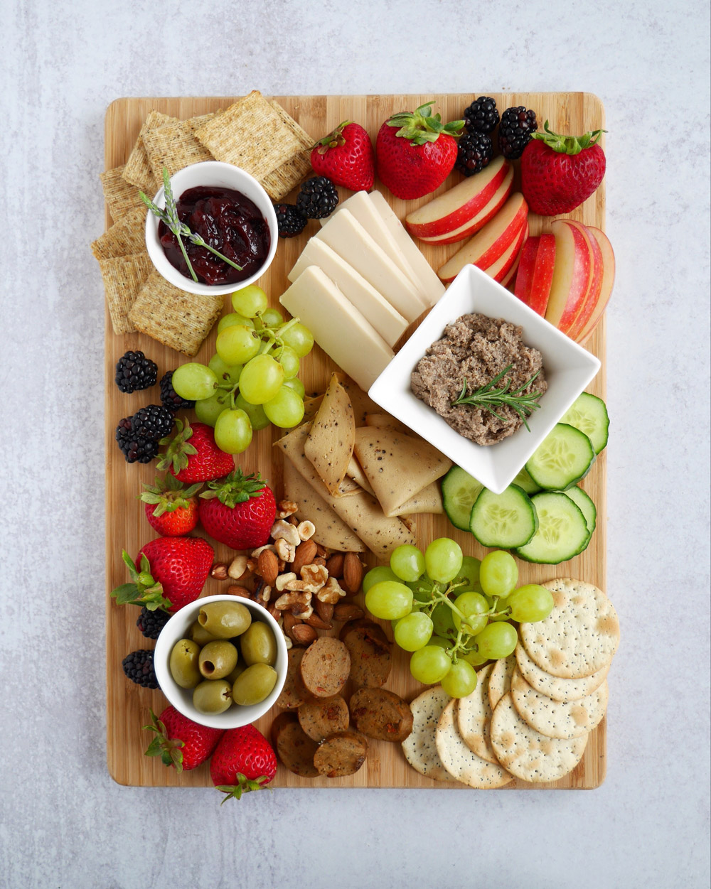 How To Make A Vegan Charcuterie Board, Large Board
