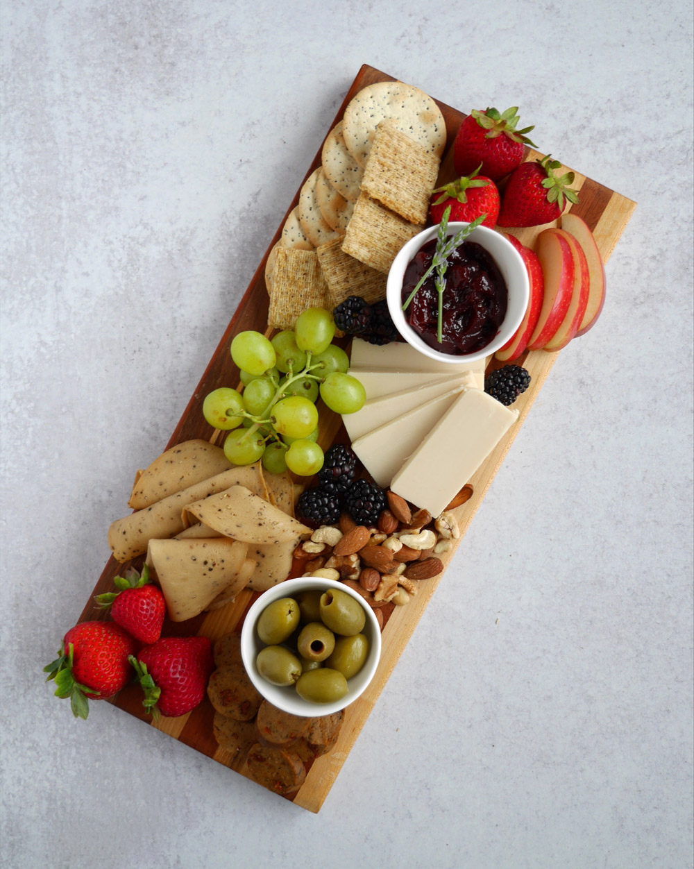 How To Make A Vegan Charcuterie Board, Medium Board