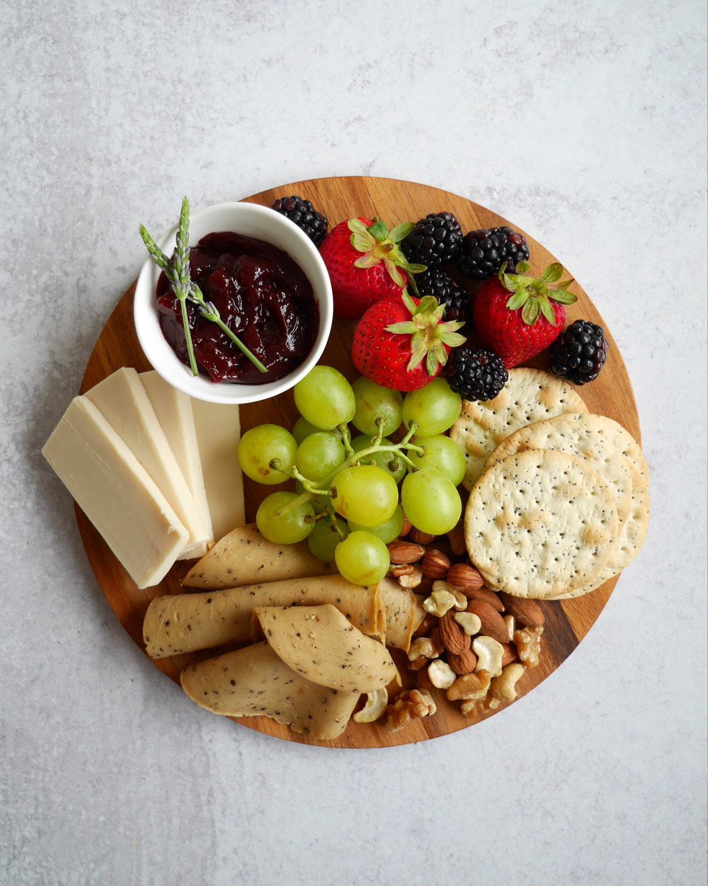 How To Make A Vegan Charcuterie Board, Small Board