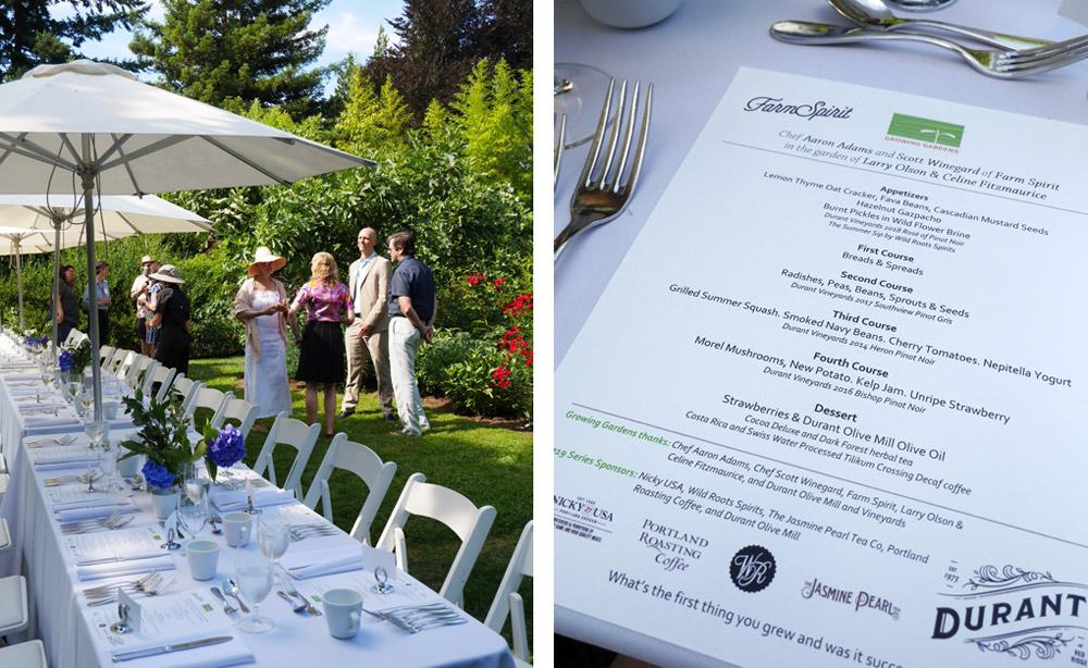 Growing Gardens, Chef in My Garden with Farm Spirit, Portland