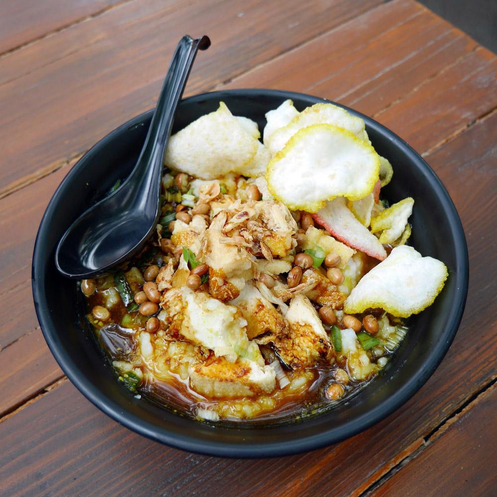 Wajan Bubur Ayam Porridge
