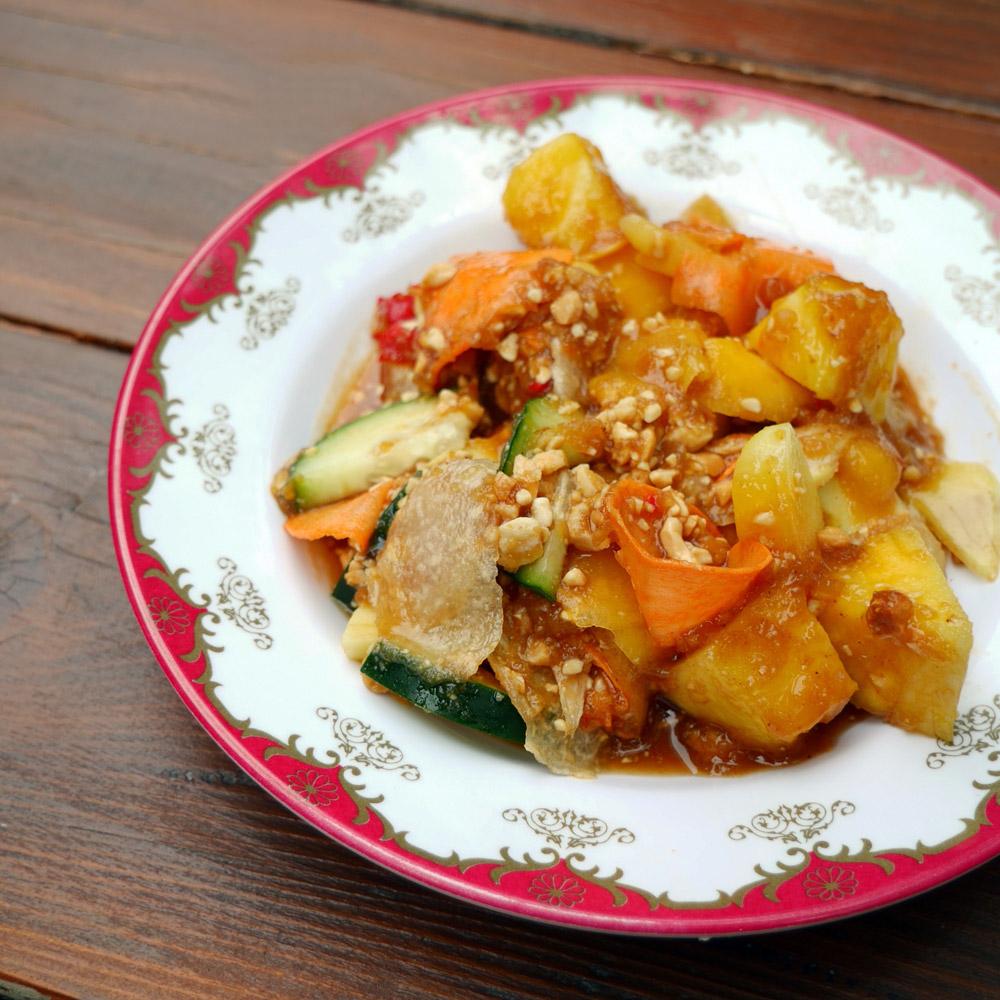 Wajan Rujak Serut Fruit Salad