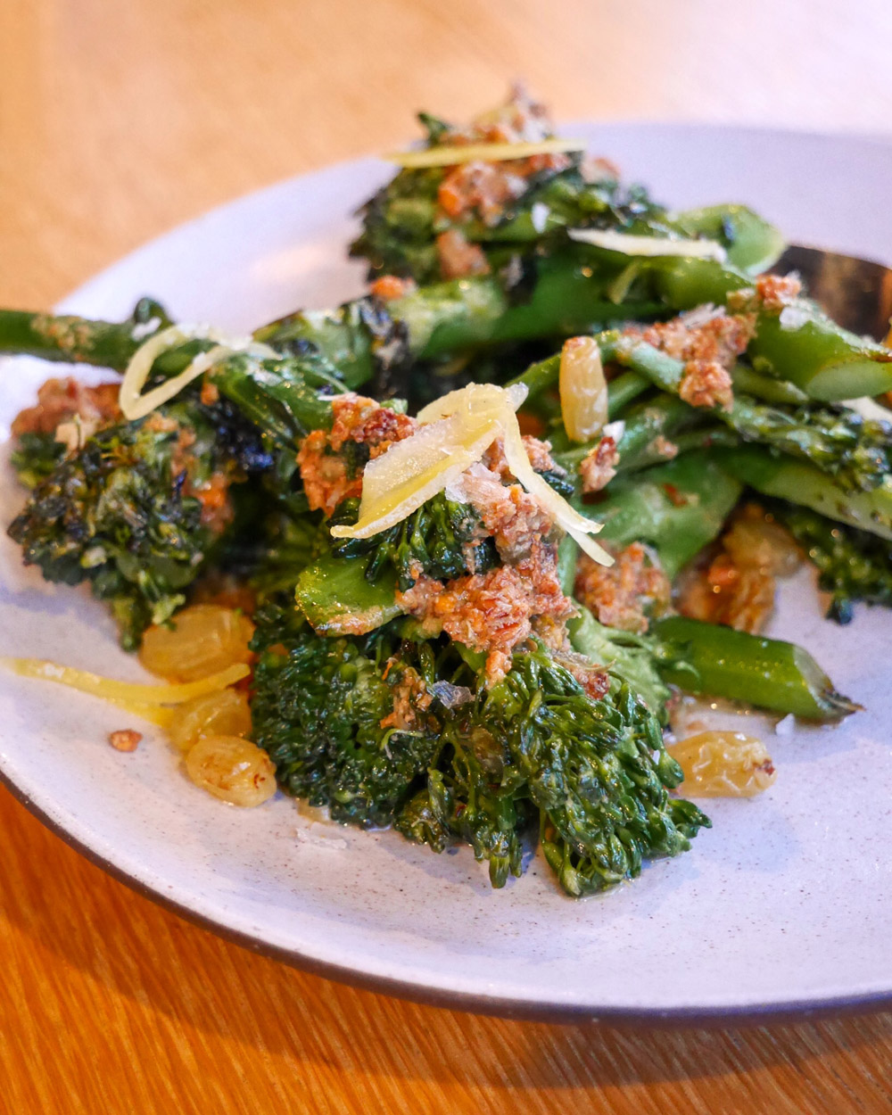 Estes Italian Popup at Dame Collective, Sprouting Broccoli