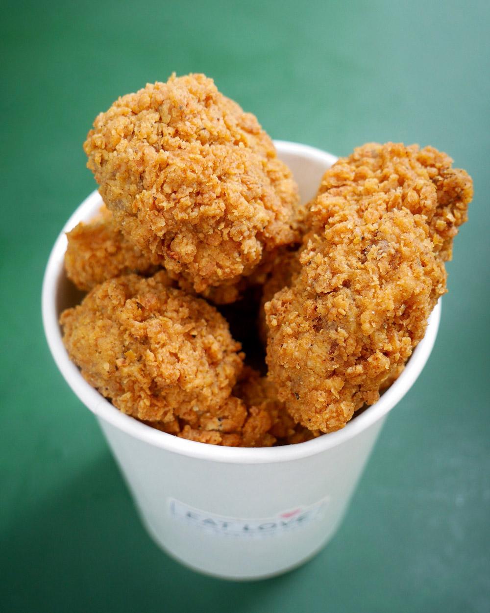Eat Love CA Vegan Fried Chicken Bucket