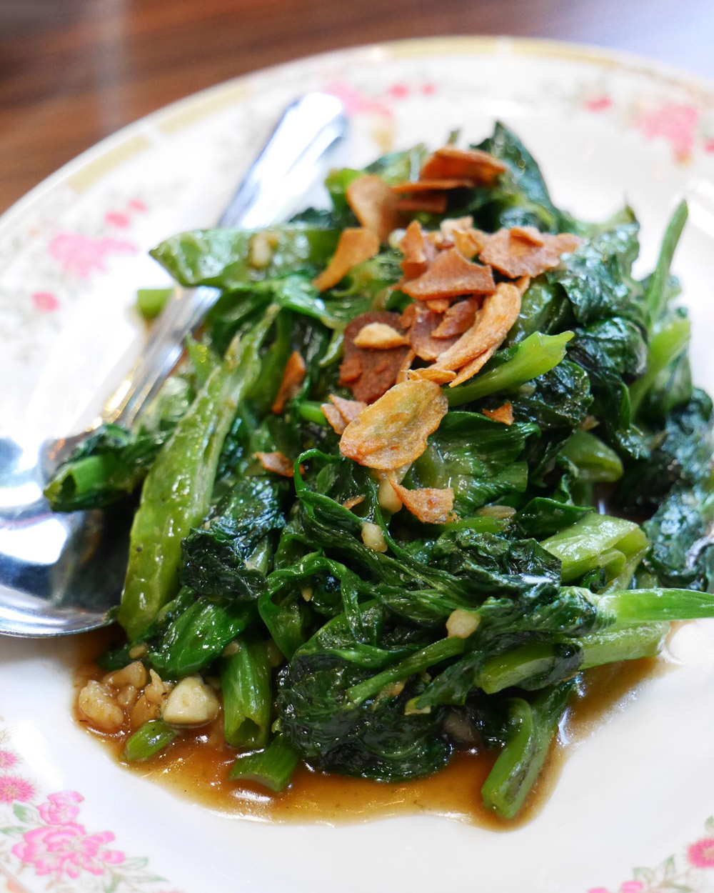 Eem, Stir Fried Market Greens, Portland