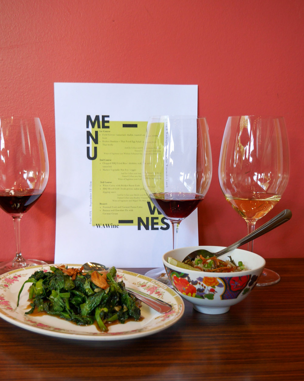 Feast 2019: Washington Winemaker Lunch at Eem, Portland