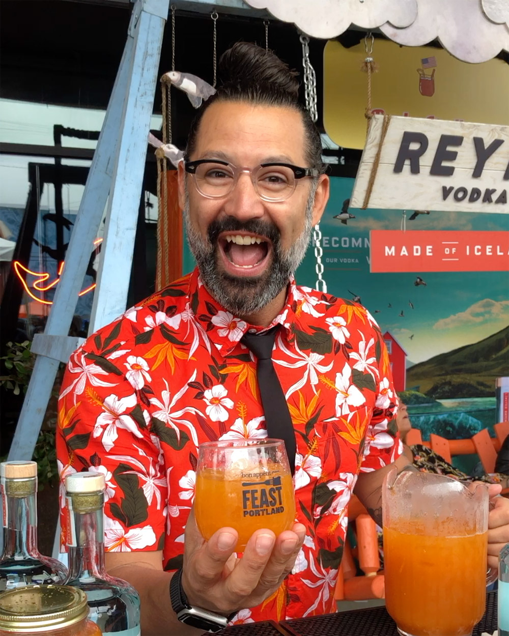 Feast 2019: Cocktail Ninja, Reyka Vodka