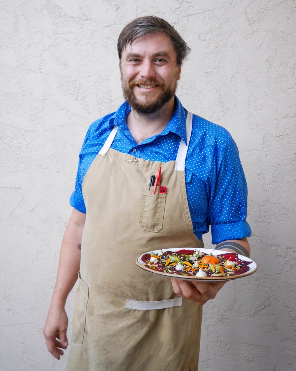 Quaintrelle, Chef de Cuisine Ryley Eckersley