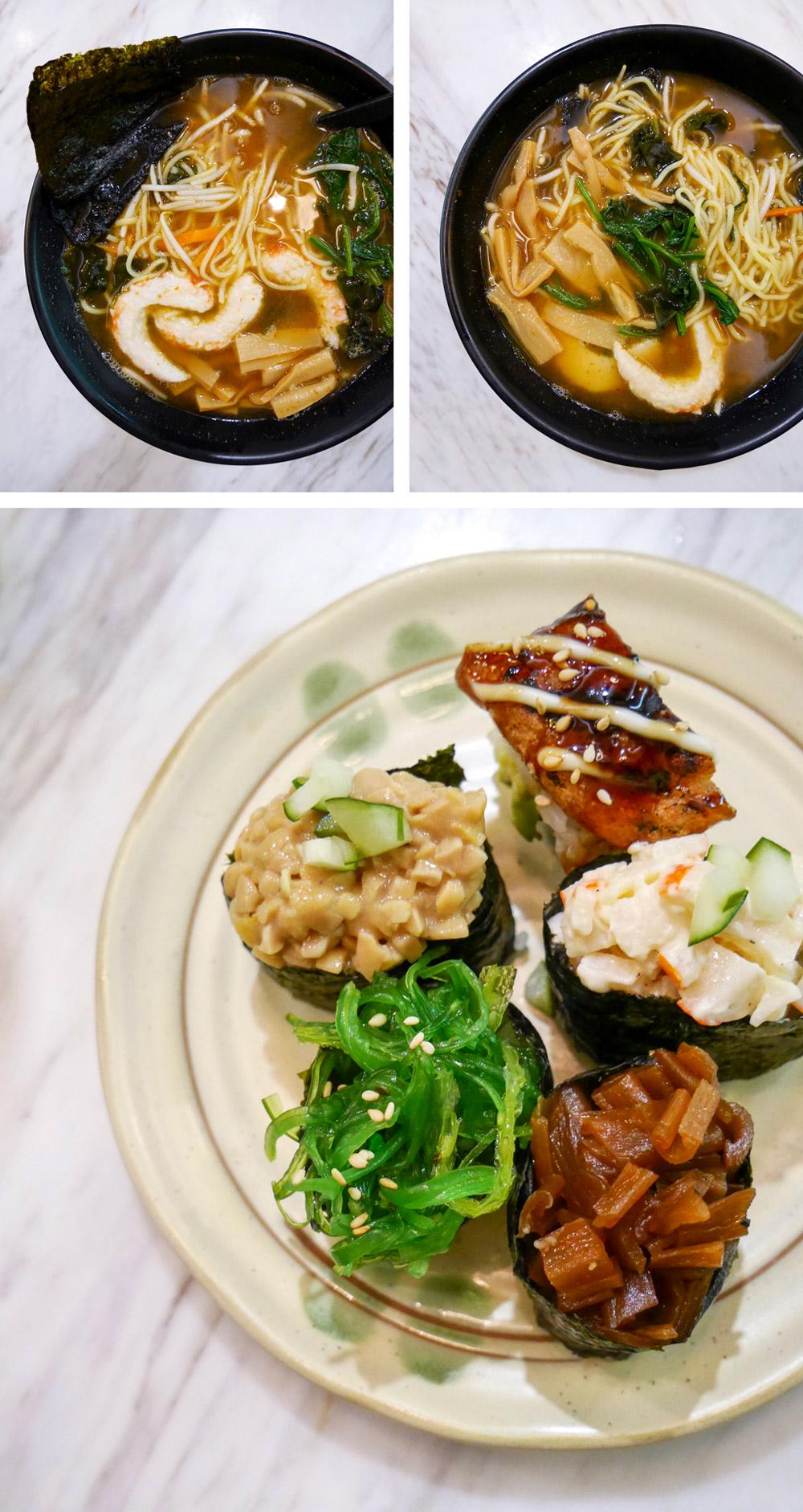 Teng Bespoke, Vegan Japanese, Singapore
