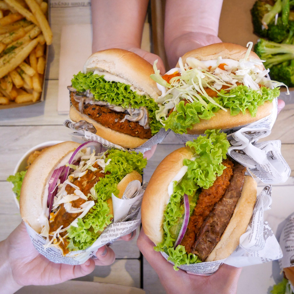 Veganburg Singapore Vegan Burgers